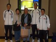 南雲さんと中川君、小林君、林君